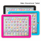 Children Tablet Pad Computer For Kid Gift Learning English Educational Teach Toy