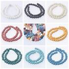 6/8/10/12/14mm Natural Stone Volcano Lava Round Loose Beads DIY Jewelry Making