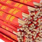"Kari-Out, Disposable Chinese Bamboo Chopsticks, 9"" Long, Individually wrapped"