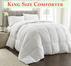 Comforter Down Alternative White Comforter Stitched In Box Set Style Three Sizes