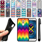 "For Huawei Honor 6X/ Mate 9 Lite 5.5"" Chevron TPU SILICONE Case Cover + Pen"
