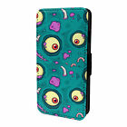 Zombie Horror Pattern Flip Case Cover For Apple iPod - S8648