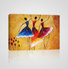 Illustration of Spanish Dancers Framed Canvas Print - YC13