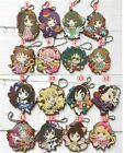 The iDOLM@STER Cinderella Girls Anime Rubber Strap Keychain Key Ring Phone Charm
