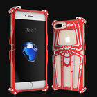 Spiderman Aluminum Metal Bumper Shockproof Stand Case Cover For iPhone 8 6S 7 5
