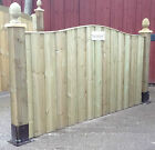 Deluxe Fence Panel 'The Darwin' Fully Pressure Treated Straight top