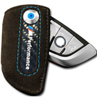 BMW Leather Car Key Case Carbon Fiber Black Key Protection Stylish Universal New