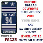 Blue Dallas Cowboys NFL Phone Case Cover for LG G6 G5 G4 HTC One m9 Moto E G X