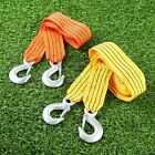 3Tons Tow Strap Set With 2 Hooks Outdoor Equipment For Camping Hooks Hiking Aid