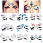 Adhesive Face Gems Rhinestone Jewels Festival Fancy Party Body Glitter Stickers