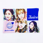 TWICE Dual Side Photo Image Make-up Cosmetic Soft Fabric Pouch Multi Case K-Pop