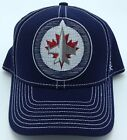 NHL Winnipeg Jets Reebok Adult Structured Flex Fit Curved Brim Cap Hat NEW! $29.99 USD on eBay
