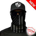 1 SA CO FISHING FACE MASK Sun Shield Neck Gaiter Headband Bandana Du Rag SPF40