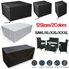 Waterproof Garden Patio Furniture Cover Covers Table Sofa Bench Cube Outdoor Uk