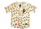 Primitive Apparel Paradise Baseball Jersey Large Cream Button Fashion Sport NWT
