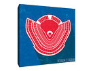 Los Angeles Dodgers - Dodger Stadium - Seating Map - Gallery Wrapped Canvas on Ebay