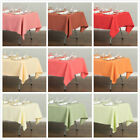 Внешний вид - LinenTablecloth 60 x 126 in.Poly Tablecloths, 33 Colors! for Wedding Event Party