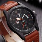 Fashion Men's Watches Stainless Steel Sport Quartz Analog Date Hours Wrist Watch image