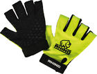 Rhino Pro Half Finger Rugby Mitts Yellow