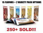 QUEST Nutrition Protein Bars - 12 Bars - 15 Flavors + Variety Pack / Sample box