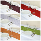 "10 pcs 12x108"" PINTUCK TABLE RUNNERS Fancy Wedding Party Catering Linens SALE"