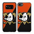 Anaheim Ducks Ice Hockey Black Hard Plastic Case Cover for iPhone Samsung Galaxy $7.99 USD on eBay