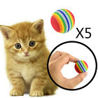 Colorful Mini Chewing Play Balls Toys For Pet Dog Puppy Cats Kitten 35mm