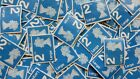 50 1st / 2nd Class LARGE Stamps Unfranked Off Paper Nice And Clean