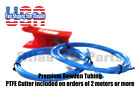 Premium Blue PTFE Bowden Tubing 1.75mm, High Temp, High Tolerance, PTFE Tubing