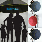 Big Top 130cm Windproof Umbrella Layer Design Large AntiUV Folding Rain Umbrella