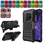 """For Samsung Galaxy S9 5.8"""" Color Hybrid Heavy-Duty stand Holster Case Cover"""