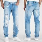 Pepe Herren Jeans - Hatch Slim Straight Fit - PM202032 - Destroyed Vintage Look