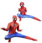 Внешний вид - Cosplay Jumpsuit Amazing Spiderman Costume Tights Suit for Adult or Kids