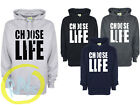 Choose Life Hoodie Wham 80's George Michael Hoody Fancy Dress Concert Hooded Top