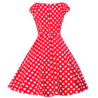 Women Vintage 50s 60s Retro Rockabilly Pinup Housewife Party Swing Dot Dress <br/> UK Stock&radic;Buy 1,get 1 at 10% off&radic;Lowest Price&radic;