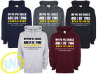 MY PEOPLE SKILLS ARE JUST FINE Hoodies Funny Rude Sarcastic Joke Novelty S-2XL