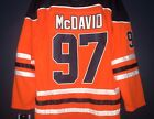 NWT Connor McDavid 97 Edmonton Oilers Hockey Jersey Men Orange