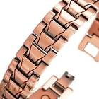 "8.5"" ATTRACTIVE COPPER MAGNETIC GOLF LINK BRACELET 20 MAGNETS MEN WOMEN HD150"