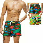 Mens Swim Trunks Quick-drying Beach Pants Boardshorts animal Print Sports Shorts