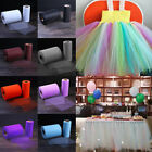 Hot 25Yard Tutu Tulle Roll Spool Netting Craft Fabric Weddin
