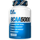 Evlution Nutrition BCAA5000, Branched Chain Amino Acids, Muscle Building