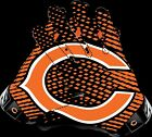 Chicago Bears Gloves Sticker Vinyl Decal / Sticker 5 sizes!! $3.49 USD on eBay