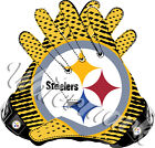Pittsburgh Steelers Gloves Sticker Vinyl Decal / Sticker 5 sizes!! $3.49 USD on eBay