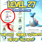 POKEMON-GO ACCOUNTS LEVEL 27 | BAN SAFE | INSTANT DELIVERY | LOTS OF STOCK