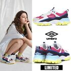 UMBRO BUMPY Ugly Athletic Sneaker Shoes Pink Yellow Sz 220-290mm