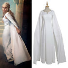 Cosplay Mother of Dragons Game of Thrones Daenerys Targaryen Costume Dress White for sale  Tucker