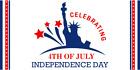 Happy 4th Of July independence Day Banner Patriotic Memorial USA Multiple sizes