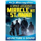 Miracle at St. Anna (Blu-ray Disc, 2009, Blu-ray) FREE SHIPPING!