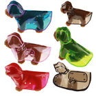 New Clear Pet Rain Coat for Dogs Pet Jacket Cute Casual Waterproof Dog Clothes Q