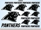 CAROLINA PANTHERS Stickers Decals American Football Team Sports Super Bowl 70S on eBay